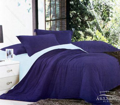 7 részes pamut ágynemű garnitúra, ágyneműhuzat garnitúra, Kék