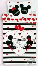 Disney Minnie egér ágynemű garnitúra, Minnie egér ágyneműhuzat, felnőtt ágynemű