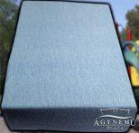 Jersey gumis lepedő 70x140 cm, Kék gumis lepedő