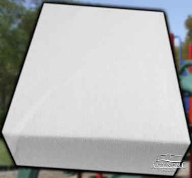 Jersey gumis lepedő 70x140 cm, Fehér gumis lepedő