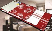 3 részes, mintás konyharuha szett, 45x70 cm, Piros csíkos konyhakendő