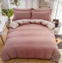 3 részes ágyneműhuzat garnitúra, ágyneműhuzat szett, pamut ágynemű, Rózsaszín pasztell ágynemű