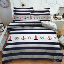 3 részes horgony ágynemű garnitúra, Anchor ágyneműhuzat garnitúra, világítótorony