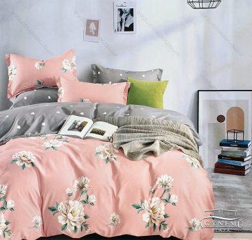 3 részes ágynemű garnitúra, ágyneműhuzat garnitúra, pamut ágynemű, Barack Virág