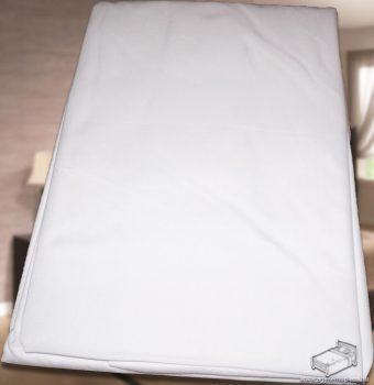 Pamutvászon, pamut lepedő, vászon lepedő 220x240 cm, Fehér