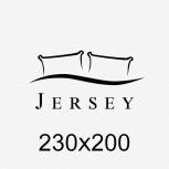 Jersey gumis lepedő 230x200 cm